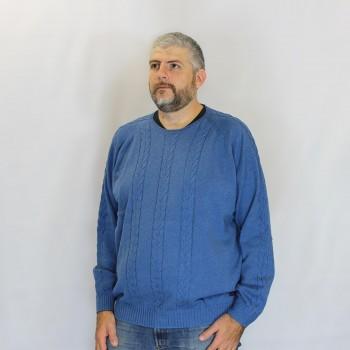 Maglia Girocollo Azzurra...